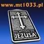 """Brelok akcji """"Nie wstydzę się Jezusa"""""""